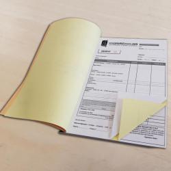 Carnets de devis / facture